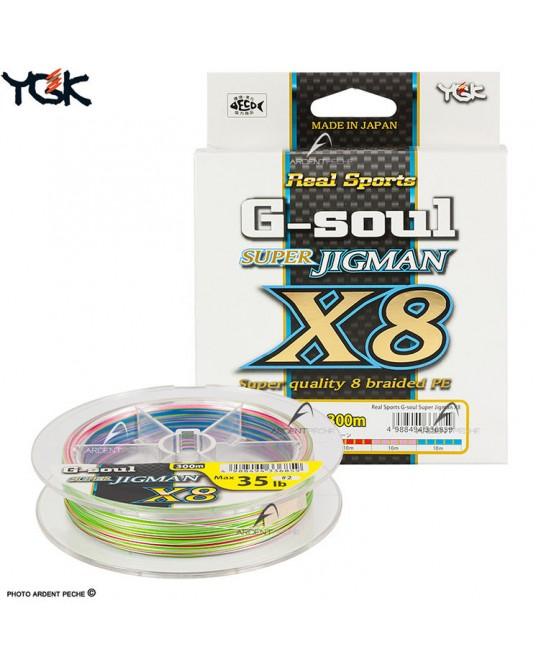 Pintas valas YGK G-Soul Super Jigman X8