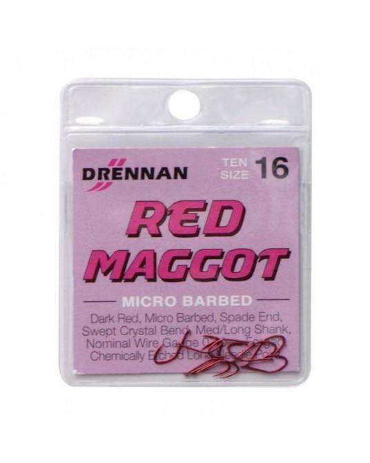 Kabliukai Drennan Red Maggot