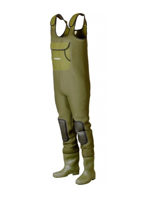 Bridkelnės DAM Fighter Pro+ Chest Neoprene Wader