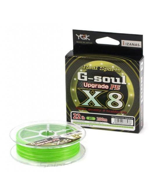 Pintas Valas YGK G-Soul Upgrade PE X8
