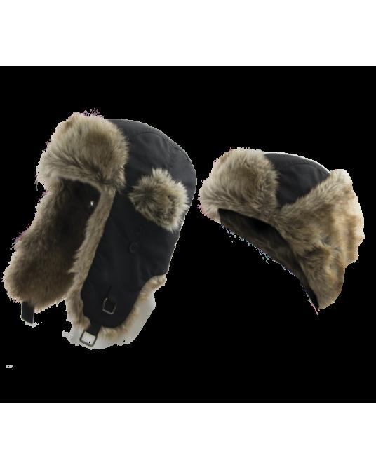 Kepurė Alaskan su kailiu