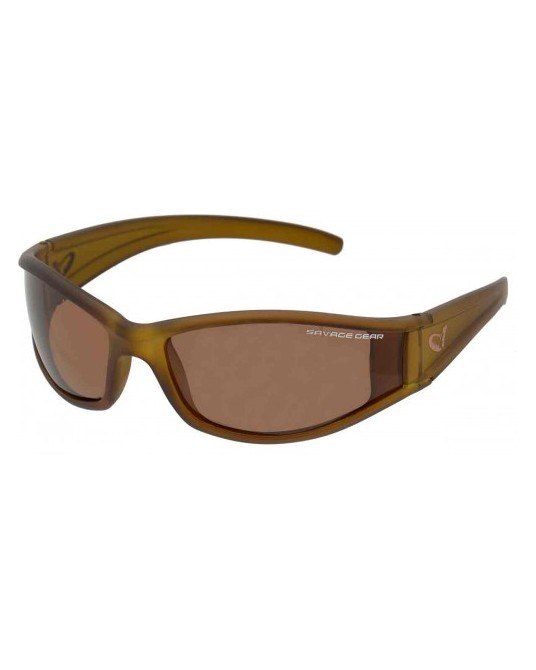 Akiniai Savage Gear Slim shades Amber
