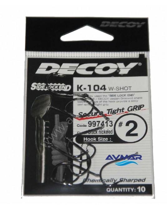 Kabliukai Decoy K-104 W-Shot