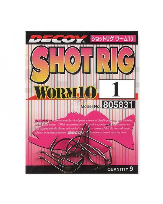 Kabliukai Decoy Worm10 Shot Rig