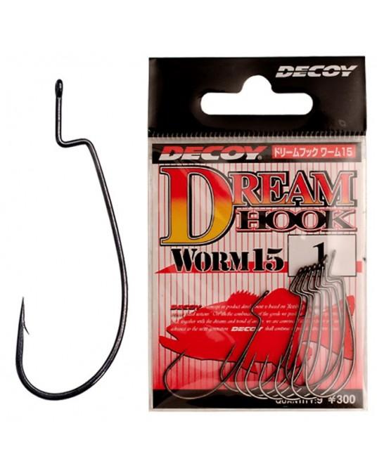 Ofsetiniai Kabliukai Decoy Worm15 Dream Hook