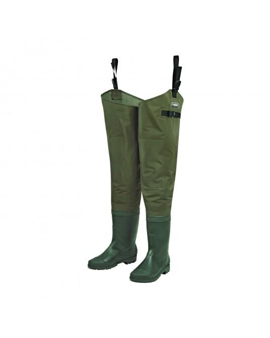 Žvejybiniai ilgi batai DAM Hydroforce Nylon Taslan Hip Waders