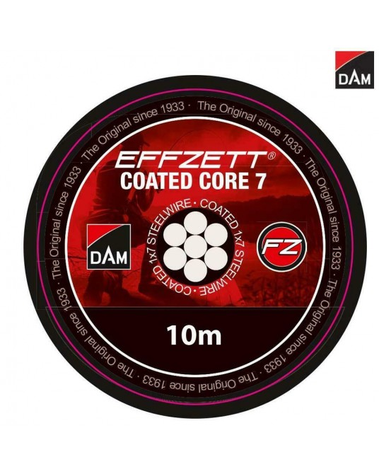 Pavadėlis DAM FZ Coated Core7 Steeltrace 10m