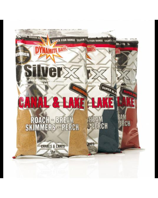 Jaukas Dynamite Baits Silver X Canal & Lake 1kg