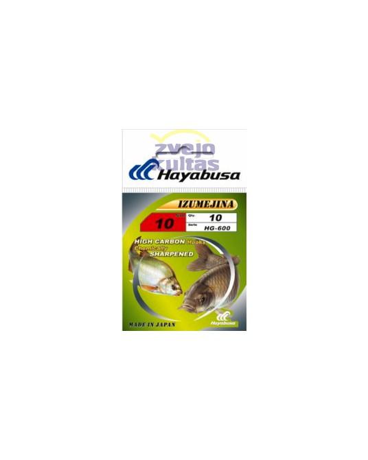 Kabliukai Hayabusa HG600 Izumejina Gold