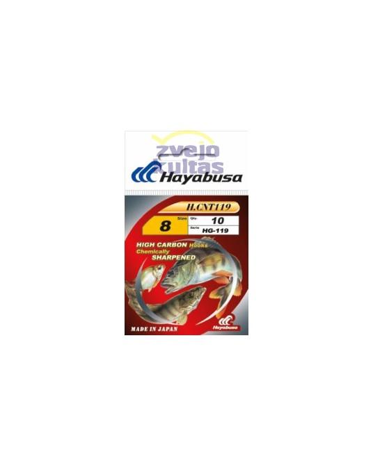 Kabliukai Hayabusa HG119 Gold