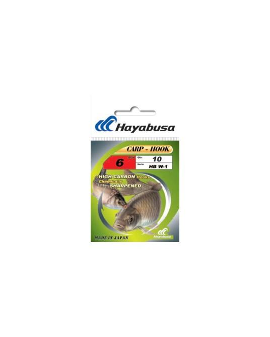 Kabliukai Hayabusa HB W-1 Black Nickel