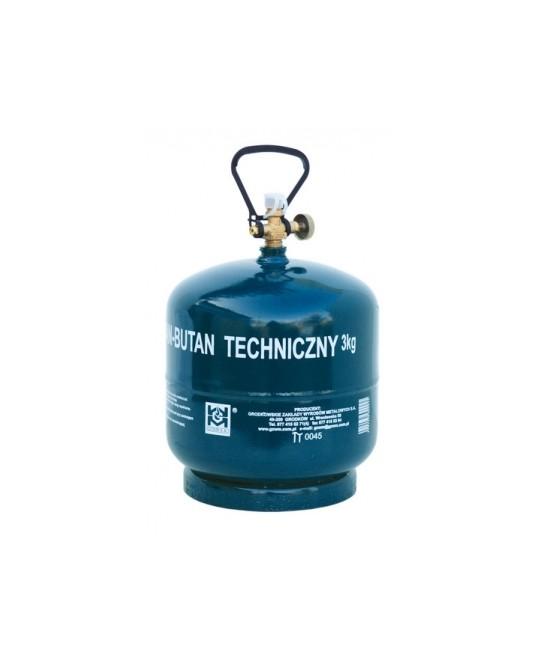 Turistinis dujų balionas BT-3 kg