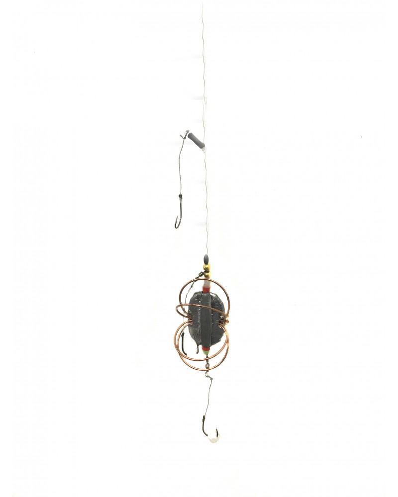 Sistemėlė dugninei zvejybai su putplasčiu