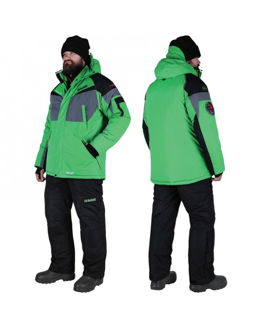 Žieminis kostiumas Alaskan Dakota Žalias