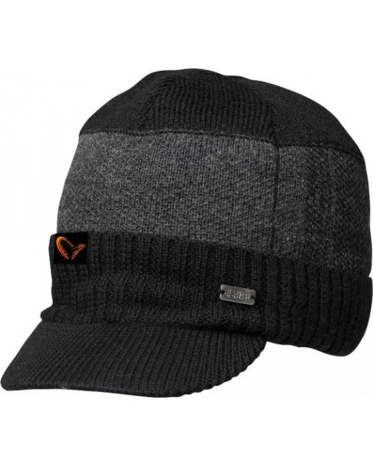 Kepurė Savage Gear Knitted Beanie w/Brim
