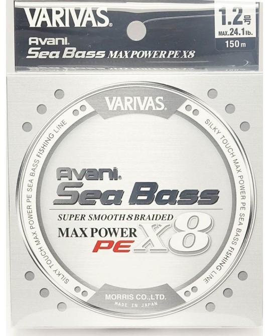 Pintas Valas Varivas SeaBass MaxPower X8