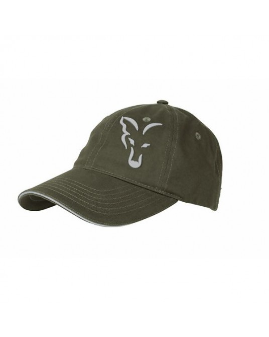 Kepurė FOX RAGE Green Silver Baseball Cap