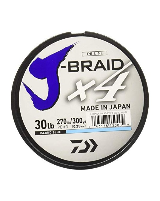 Pintas valas Daiwa J-Braid X4 270m