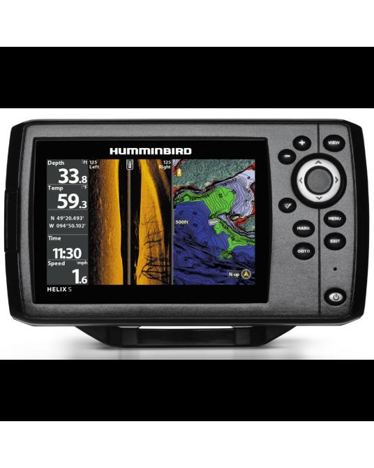 Echolotas Humminbird HELIX 5 CHIRP SI GPS 410230-1M G2