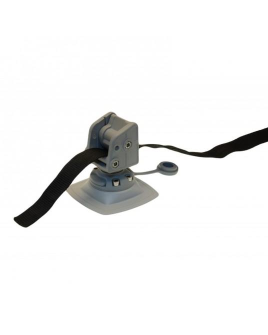 Inkaro virvės fiksavimo mazgas su montavimo platforma Borika