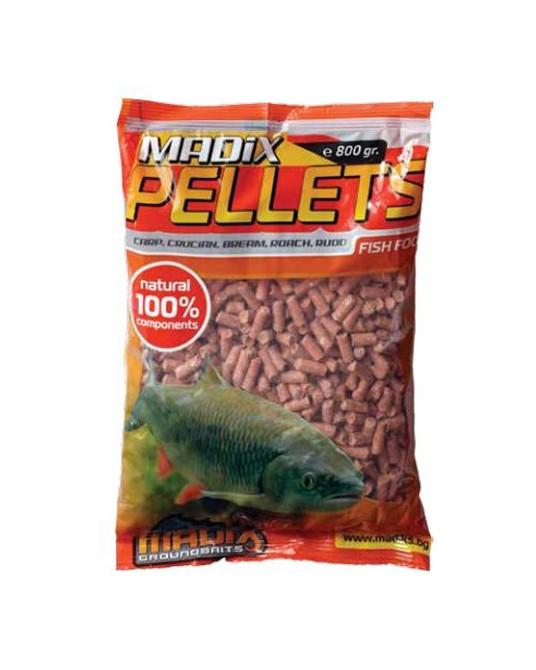 Greitai tirpstančios peletės Madix 0,8kg