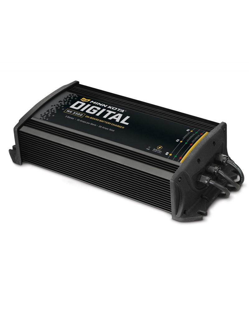 Pakrovėjas Minn Kota MK-330E Euro On-Board (3 bank x 10 amps)