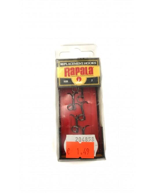 Trišakiai Rapala VMC Replacement Hooks