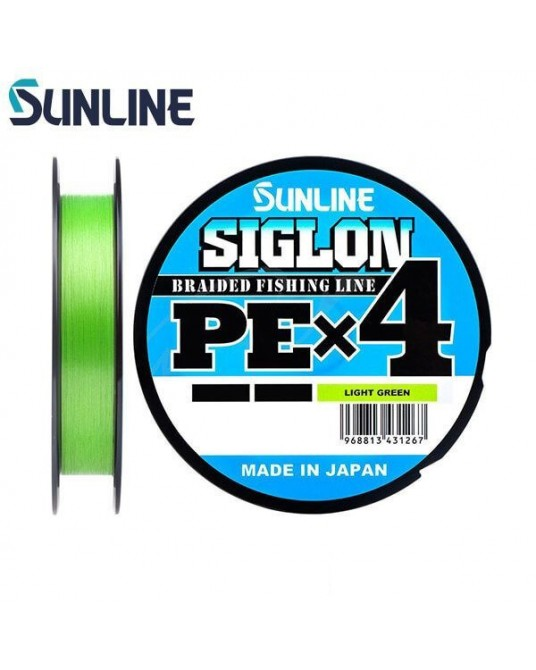 Pintas Valas Sunline Siglon PE X4 Light Green 150m