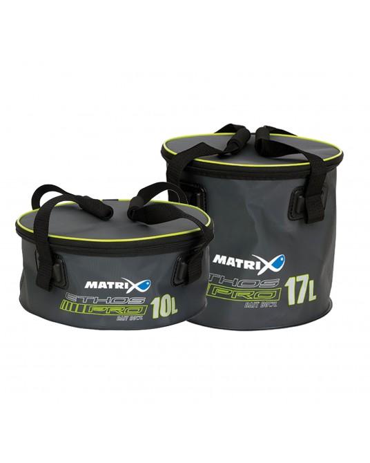 Krepšys jaukui Matrix ETHOS® Pro EVA Bait Bowls Lid & Handles