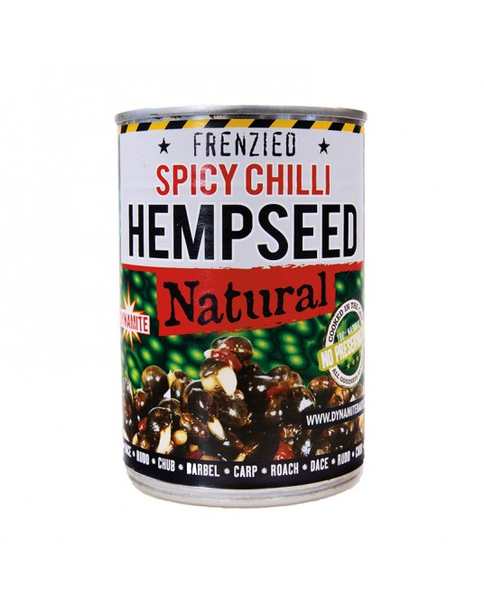Kanapių sėklos Dynamite Baits Hempseed Spicy Chilli 350-700g