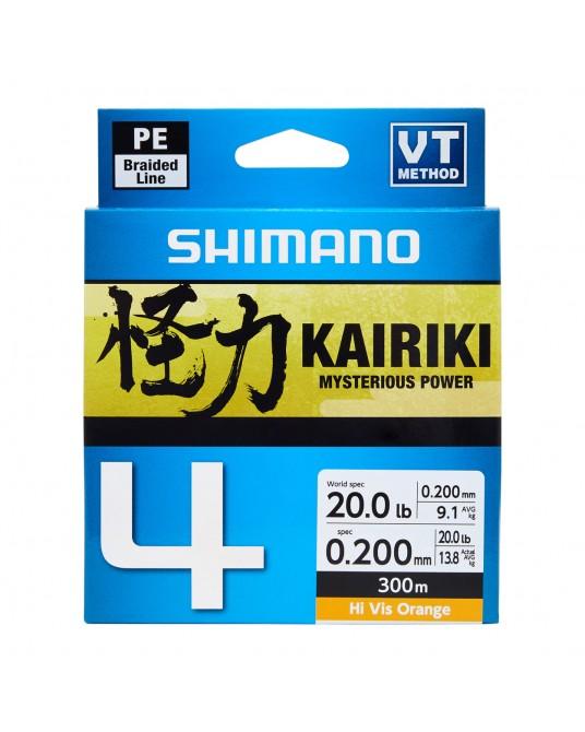 Pintas Valas Shimano Kairiki X4 300m Orange