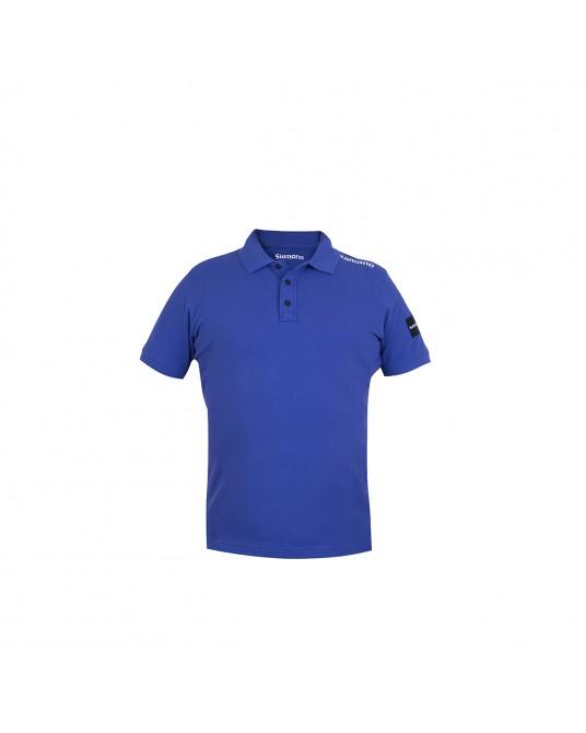 Marškinėliai Shimano Apparel Polo Royal Blue
