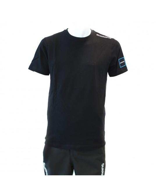 Marškinėliai Shimano Apparel Black