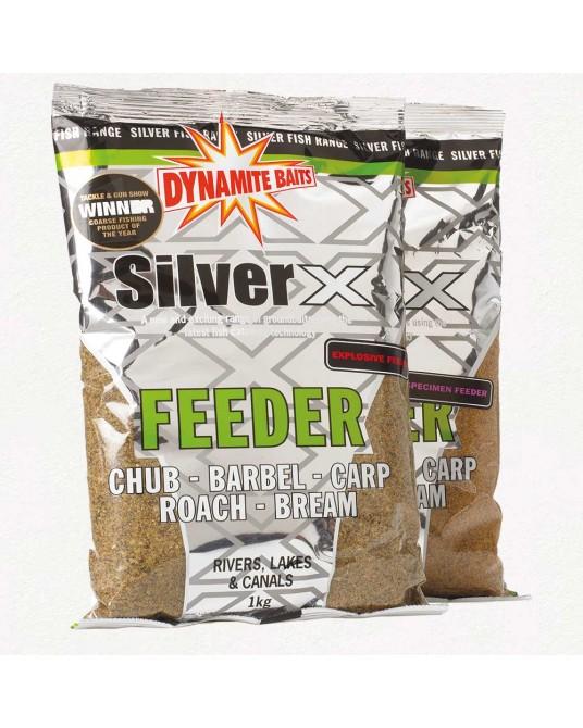 Jaukas Dynamite Baits Silver X Feeder 1kg