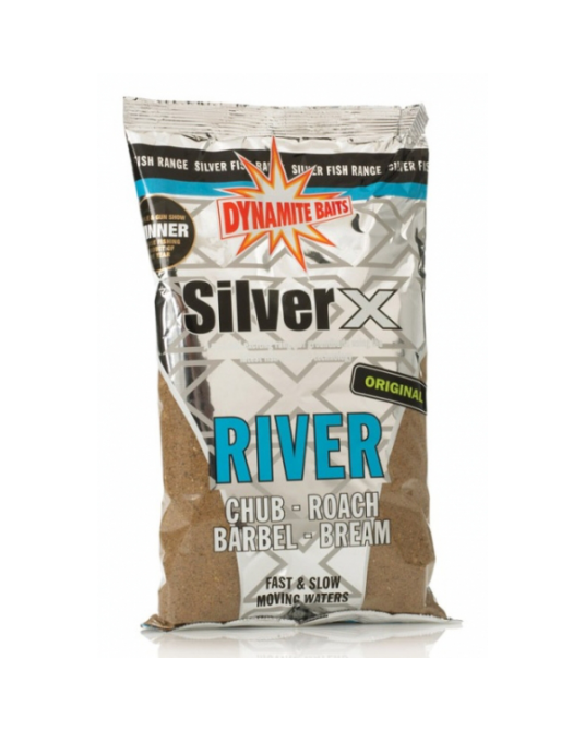 Jaukas Dynamite Baits Silver X River 1kg