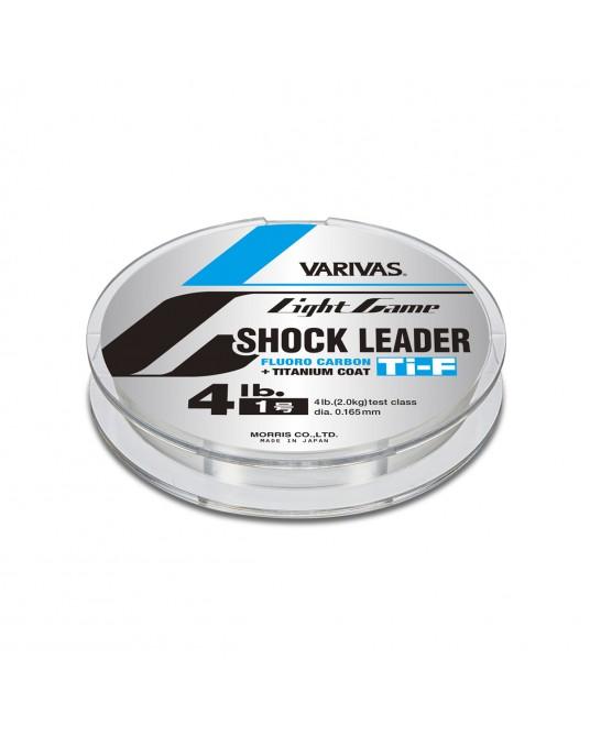 Valas Varivas Light Game Shock Leader Ti-Fluoro