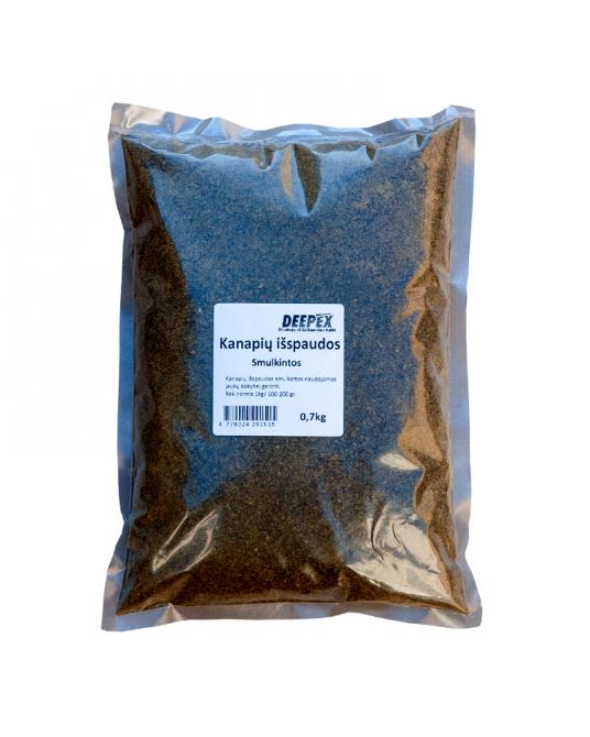 Kanapių išspaudos smulkintos Deepex 0,7kg