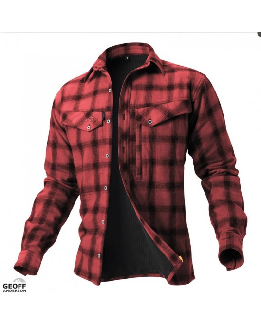 Marškinėliai Geoff Anderson Ezmar+ Red